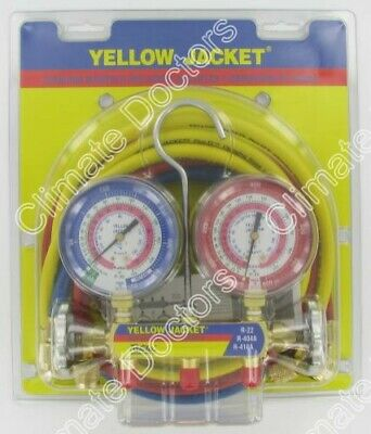 Yellow Jacket 42004 Series 41 Gauges-3 1/8""