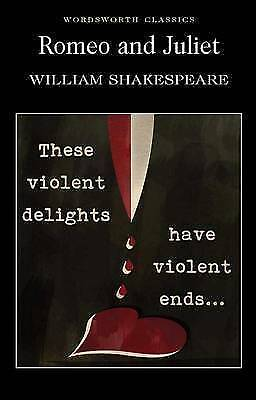 Romeo and Juliet (Wordsworth Classics) by William Shakespeare, NEW Book, (Paperb