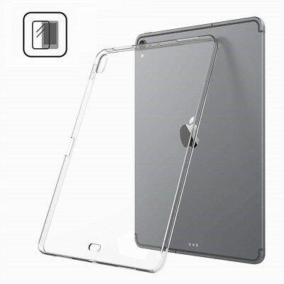 For Apple iPad Pro 12.9'' 11'' 2018 Ultra Thin Crystal TPU Clear Shockproof Case