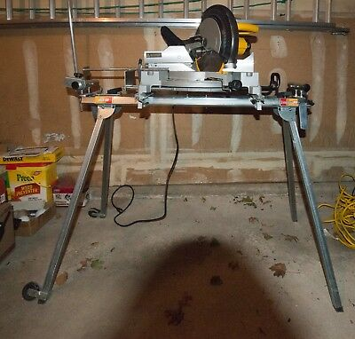 Dewalt DW 705 miter saw and Stablemate Plus 100 Stand
