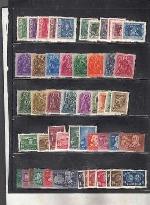 oldhal-Hungary- Lot of Mint Sets (6)- 1930s-