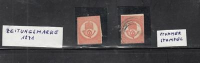 oldhal-Hungary- Mint & Used Stamps from 1871-  Scott # P1