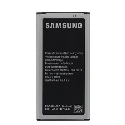 2800mAh New battery replacement for Samsung Galaxy S5 Genuine BG900BBE