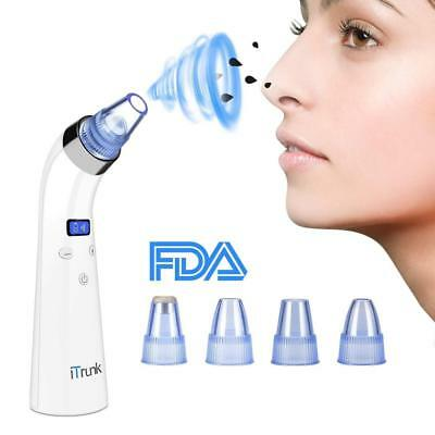Blackhead Remover Vacuum, Electric Pore Vacuum Cleaner with LED Display,...