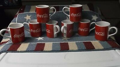 Coca Cola Coke Vintage Coffee Collectible  Mug 2002 Gibson ceramic red and white