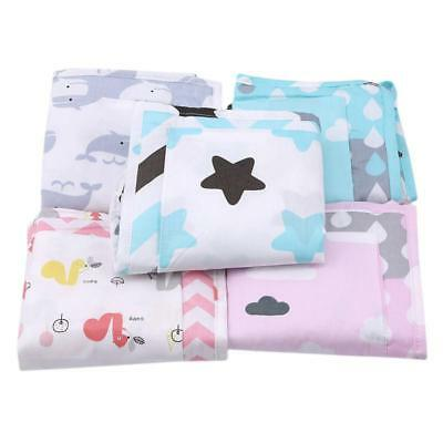 Baby Cot Bed Diaper Hanging Laundry Storage Bag Organizer Single LC