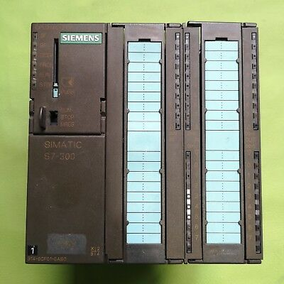 Siemens 6ES7 314-6CF01-0AB0 6ES7314-6CF01-0AB0  Used Normal work