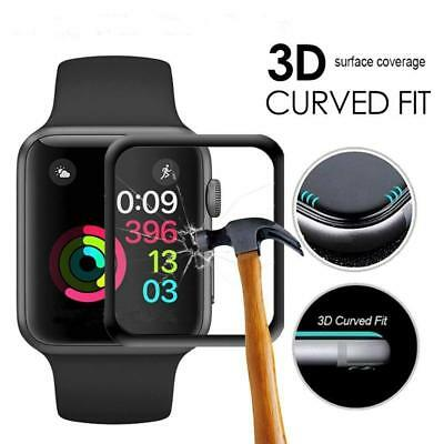 Vitre Verre Trempé Film Protection écran Glass 3D Courbé Apple Watch 4 3 2 1