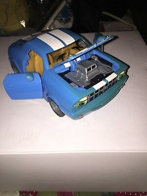 The Chevron Cars No 43 Moe Muscle Blue White Stripe 2009 Camaro  Toy Car