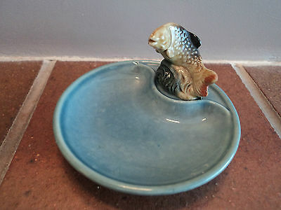 Vintage (Wade) Trout Fish Ring/trinket Dresser Tray/dish - Mint Condition.