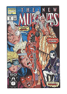 The New Mutants #98 (Feb 1991, Marvel)