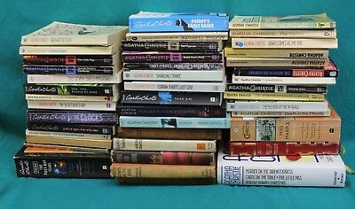 Job Lot Collection Vintage/Modern Agatha Christie Books (Hospiscare)