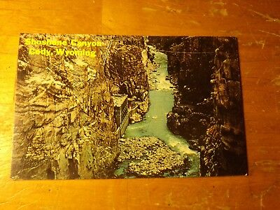 Vintage Postcard The Power House Below Buffalo Bill Dam, Cody, Wyoming