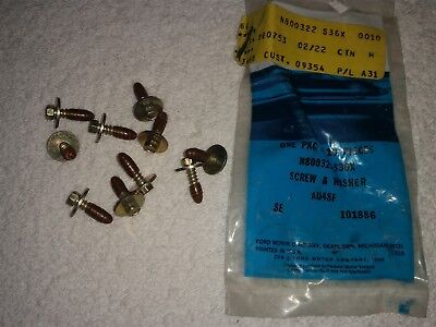 NOS Ford Screw - Hex Head - Washer - M4.2 Diameter - 16mm Length - N800322-S36X