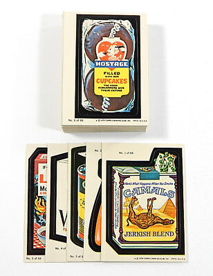 # 1979 Topps Wacky Packages Series 1 Sticker Set (66) Ex/Mt