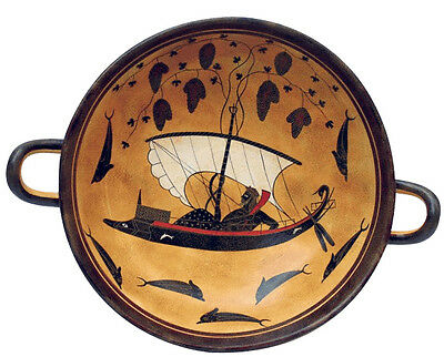 Dionysos Cup Dionysus Kylix Ancient Greek Museum Replica Reproduction