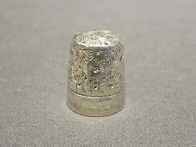 Collectable Antique CH Charles Horner Dorcas Sewing Thimble - Size 5