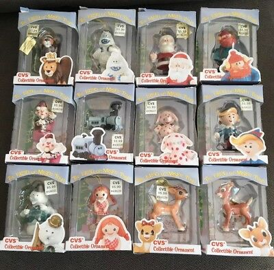 Rudolph and The Island Of Misfit Toys CVS Ornament Lot of 12