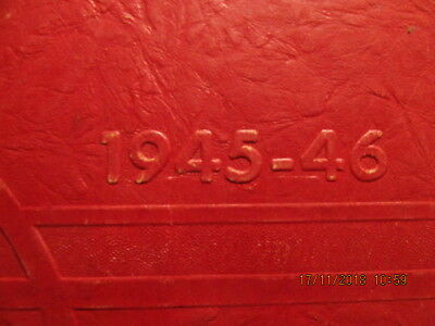 1945-46 Yearbook Luce Township High School Richland City IN With Great Photos
