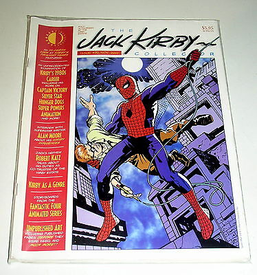 Jack Kirby Collector #30 (Magazine Fanzine - 2000)  In The 80's + Alan Moore