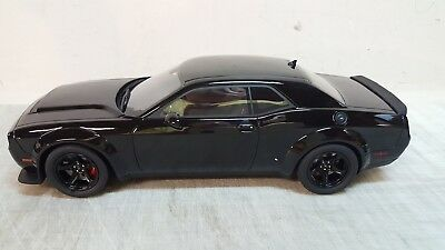 Gt-Spirit 1:18  2018 Dodge Challenger - Srt Demon In Black - In Stock. !!!!