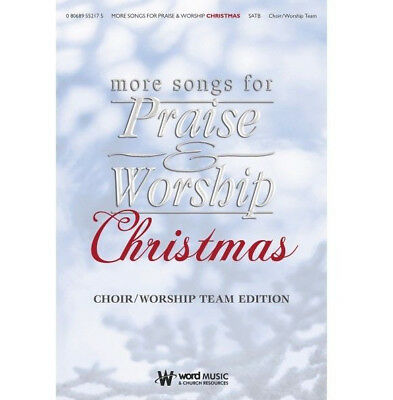 More Praise & Worship Christmas - Piano/Vocal/Guitar Songbook 080689326189