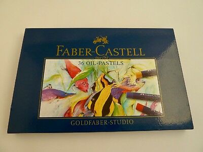 Box of 36 Faber-Castell Goldfaber Permanent Oil Pastels