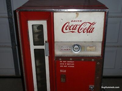 Have A Coke Coca Cola Machine Cavalier 1960 CS-64C Slant Shelf RARE COLLECTIBLE!