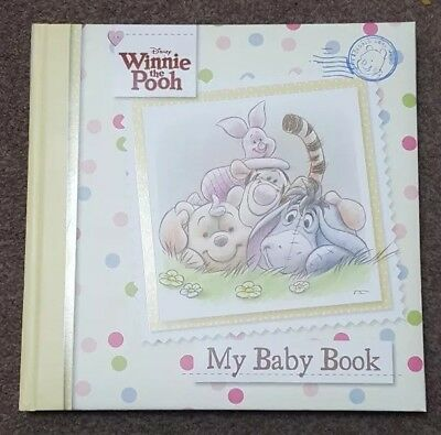 Brand New Winnie The Pooh Baby Record Book
