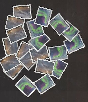 Canada 2018 Astronomy 10 Set of 2 Used