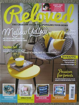 Reloved magazine issue 54 Upcycling Table Jennifer Tran Textile Art Sewing