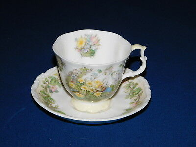 Royal Doulton Brambly Hedge Collection Spring Flowers cup & saucer
