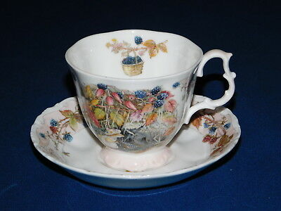 Royal Doulton Brambly Hedge Collection Autumn Berries Cup & Saucer