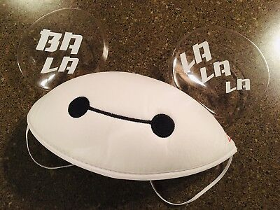 Disney Parks Big Hero 6 Baymax Mickey Ears Hat Youth Size New With Tags