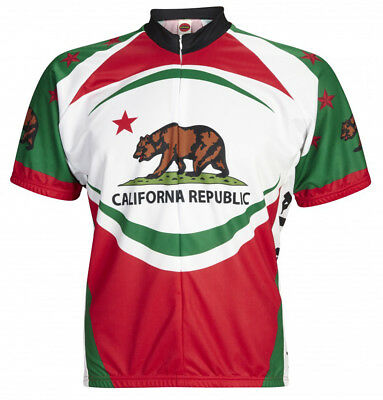 70787df66 California Bear Cycling Jersey World Jerseys Mens short sleeve + socks  bicycle