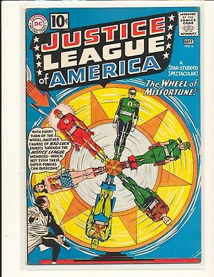 Justice League of America # 6 - 1st Professor Amos Fortune VG/Fine Cond.