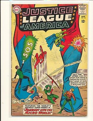 Justice League of America # 18 VG+ Cond.