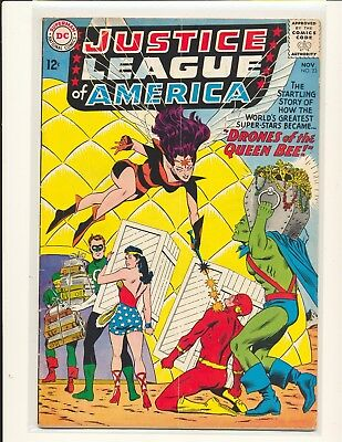Justice League of America # 23 VG Cond. subscription crease