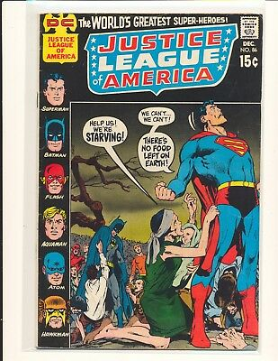 Justice League of America # 86 - Neal Adams cover VG+ Cond.