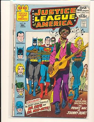 Justice League of America # 95 VG Cond.