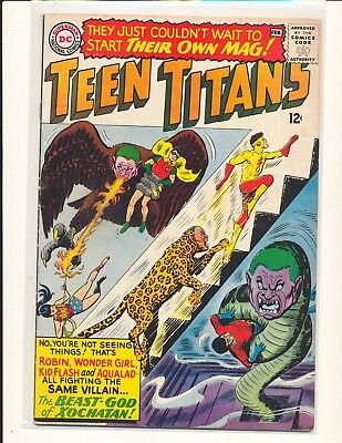 Teen Titans # 1 - Nick Cardy cover VG/Fine Cond.