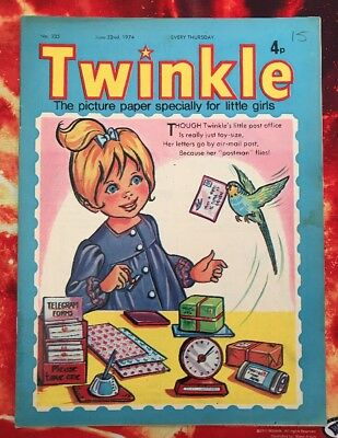 Twinkle  Comic No. 335. 22 June  1975. Puzzles Not Done. Vfn+