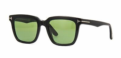 c328d54484fd0 AUTHENTIC TOM FORD MARCO 02 FT 0646 01N Black Green Sunglasses ...