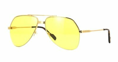 e738d336c AUTHENTIC TOM FORD Wilder 02 FT 0644 32E Gold/Yellow Sunglasses ...