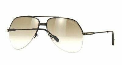 b31e105954a Authentic Tom Ford LUCA 02 FT 0650 Gold gold Brown Mirror (30G) Sunglasses