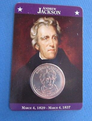 Andrew Jackson $1 coin, from  the  Presidential Dollars Collection  US President