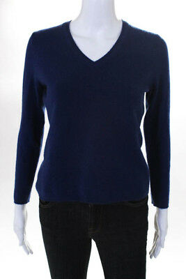 Cashmere Lord Taylor Womens Sweater Size Petite Small Blue