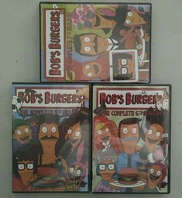 Bob's Burgers: Complete Seasons 6 7 8  Bobs DVD Sets Animated TV Series NEW 678
