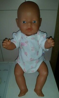 Baby Born Doll - Old Style with original Romper - Cute