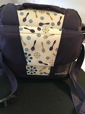 Munchkin Travel Booster Seat -Toddler High Chair Purple - Excellent Condition